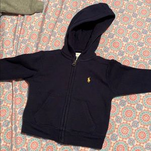 Polo by Ralph Lauren Navy Blue hoodie